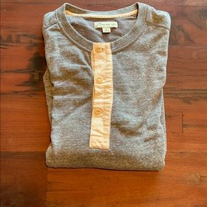 🌟FINAL SALE🌟 J. Crew Henley Sweatshirt